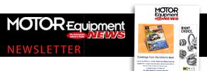 Motor Equipment News Newsletter