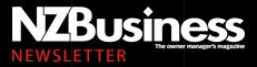 NZBusiness Magazine Newsletter