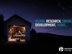 BLOOD, RESEARCH, SWEAT, DEVELOPMENT, TEARS...